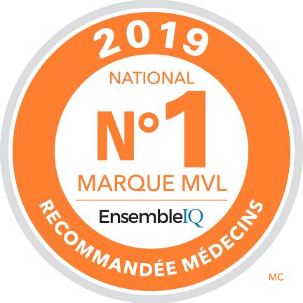 #1 Marque MVL Recommandée médecins